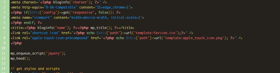Warp 6 head.php details