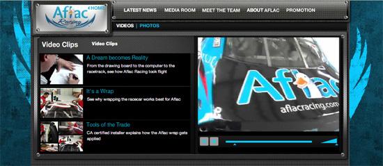 AFLAC Racing Media Gallery