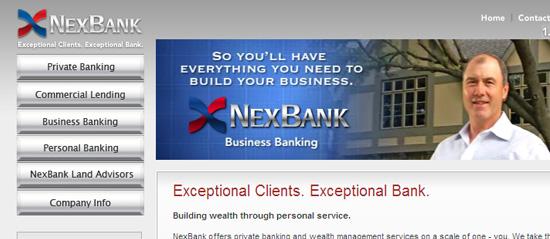 NexBank Website