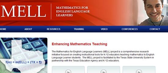 Mathematics for English Language Learners